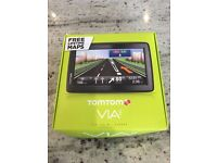 Tomtom via 135 European sat nav with box, used once