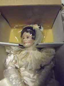 2 Collectible Dolls, NEW IN BOX, Never handled! Certified! WOW! London Ontario image 2