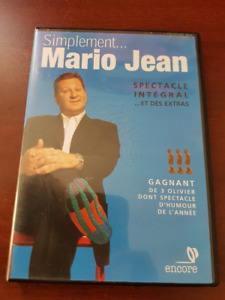 Simplement Mario Jean Spectacle Intégral (DVD Humour)