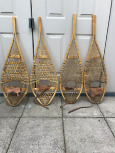 Adult Wooden Snow Shoes