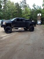 Lifted 2009 Chevy 2500 Duramax LTZ