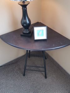 small corner table / stand