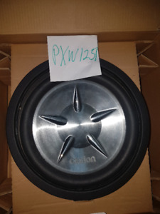 Clarion 12″ Dual 2-ohm Voice Coil Subwoofer PXW1251