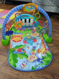 Fisher Price Kick and Play Piano Gym/Play Mat