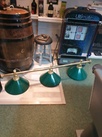 light for pool table or kitchen
