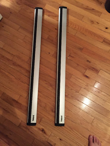 Thule Aeroblade Bar & Foot Pack - Excellent Condition