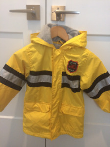 Boy's fire fighter coat