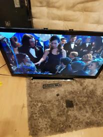 Slim Panasonic 42 inch full HD digital channels