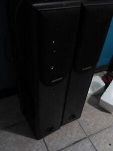 """10"""" kenwood tower speakers"""