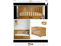 3 Piece Mamas & Papas Ocean Range Furniture GOLDEN OAK