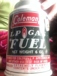Looking for Coleman LP Gas Fuel