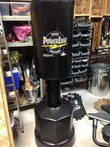 Powerline adjustable punching bag