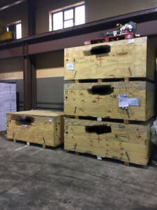 Shipping crates wood 7'x4.5'x3'