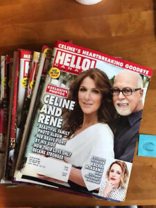 Hello Magazine Lot of 16 Issues Feb to July 2016 Royals Clooney