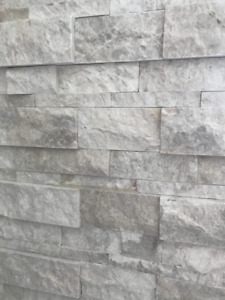 Natural stone wall tiles - 6 square feet