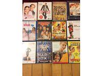Chick flick DVDs
