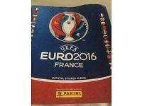 Euro sticker swap