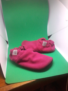 Childrens Pink Jady Baby Shoes