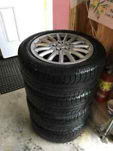 Michelin Winter X-Ice Tires & Rims off Mercedes C230 Kompressor