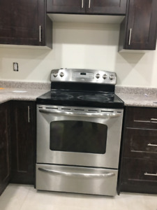 GE Stainless Steel Electric Range - Used