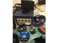 GameCube with controller & 4 games , Star Wars, Harry Potter .. Nintendo