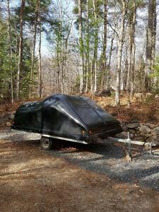 2004 Hyland Double Snowmobile Trailer