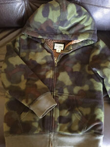CHILDREN'S PLACE CAMO HOODIE