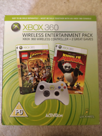 Xbox 360 Wireless Controller & games
