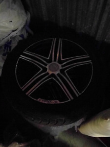 Elbrus rims and tires 225 55 r17 set of 4