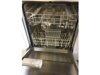 Beko Silver full size Electric Dishwasher,
