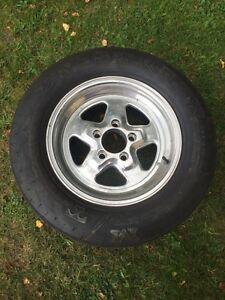 Drag tires and rims