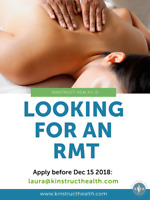 Waterdown clinic looking for an RMT