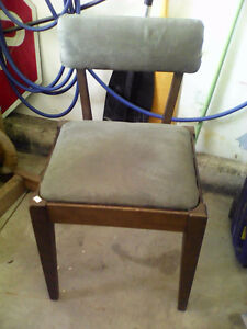 Sewing machine chair.