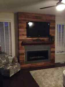Barn Board Accent Walls - Reclaimed Accent Walls Kitchener / Waterloo Kitchener Area image 1
