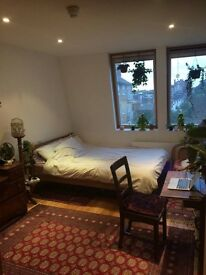 Big and bright double room available in Stoke Newington