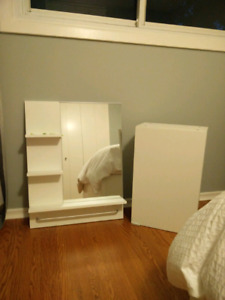 IKEA Bathroom Mirror with Shelves and Medicine Cabinet
