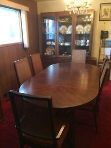 Solid Teak Wood Dining Room Set