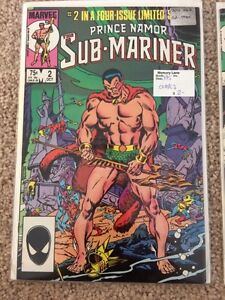 Prince Namor Sub-Mariner - Limited Four Issue Series London Ontario image 1