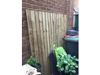 6' by 6' fence panel free