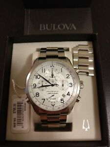 *** Bulova Precisionist Wilton Chronograph 96B183 LNIB w/papers