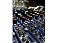 TL Audio M1-F Tubetracker 12-Channel Tube Mixer