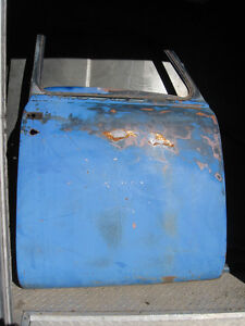 A pair of early 50's Chev/GMC pickup doors, sell or trade