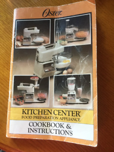 Oster kitchen center - vintage