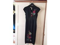 Karen Millen Chinese corset dress worn once Sz 12