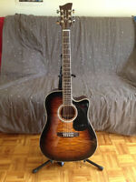 Electro Acoustic Guitar Jay Turser