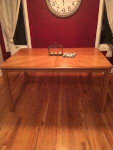 Solid Golden Oak Table