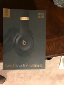 Hi there I got Beats studio by Dre Limited addition