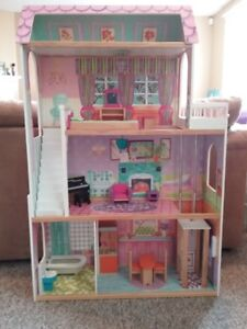 Barbie doll house, 4 stories. excellent condition.