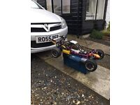 1/5th scale rc buggy