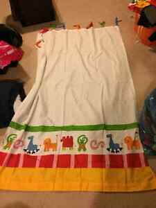 IKEA kids two panel curtains
